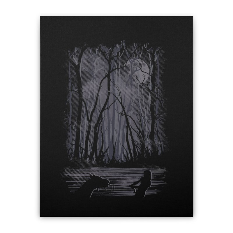 The Sadness Home Stretched Canvas by Daletheskater