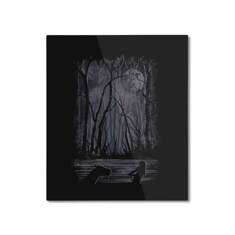 The Sadness Home Mounted Aluminum Print by Daletheskater