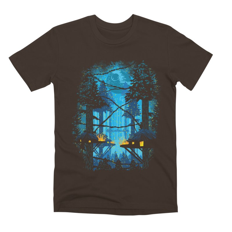 Ewok Village Men's Premium T-Shirt by Daletheskater