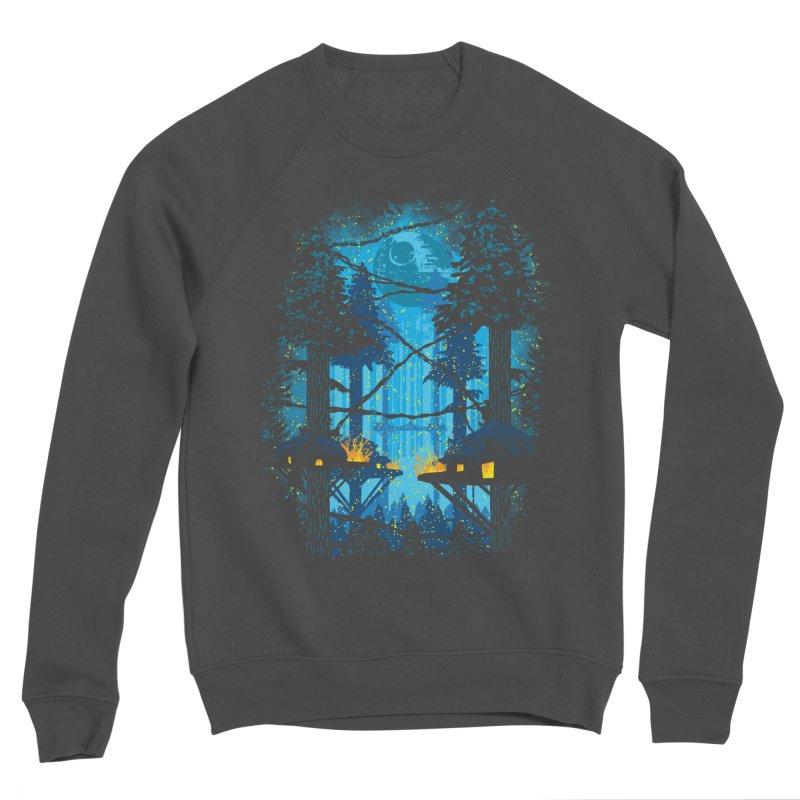 Ewok Village Men's Sponge Fleece Sweatshirt by Daletheskater