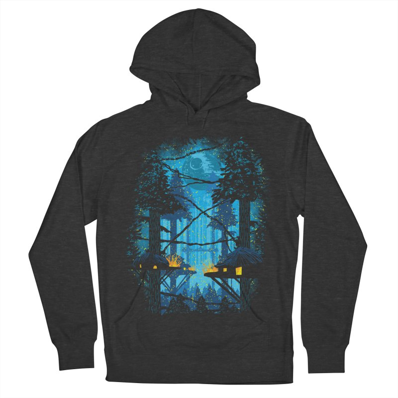 Ewok Village Women's French Terry Pullover Hoody by Daletheskater