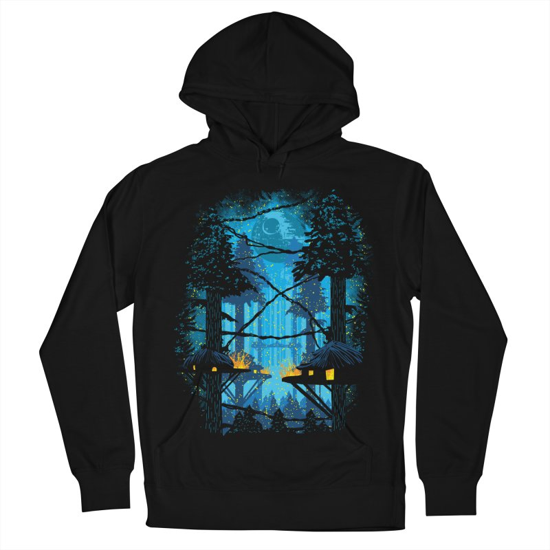 Ewok Village Men's French Terry Pullover Hoody by Daletheskater