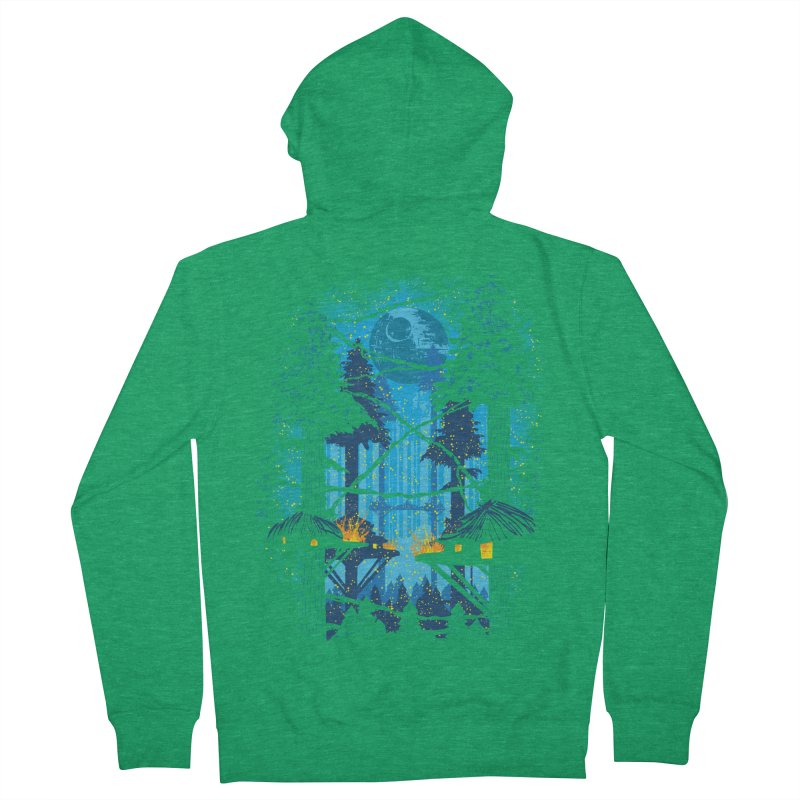 Ewok Village Women's French Terry Zip-Up Hoody by Daletheskater