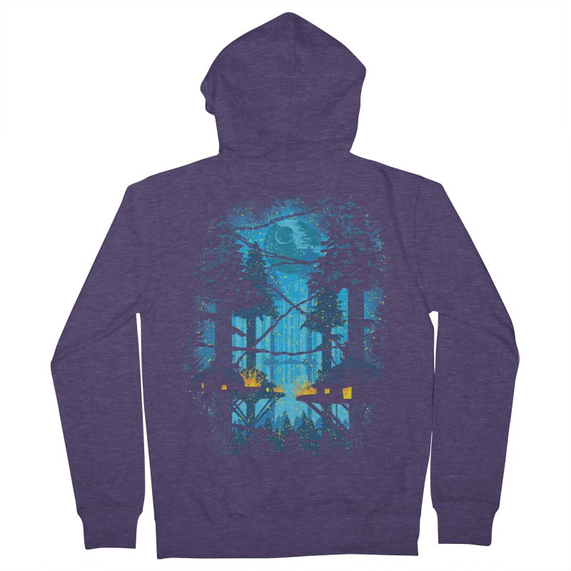 Ewok Village Men's French Terry Zip-Up Hoody by Daletheskater
