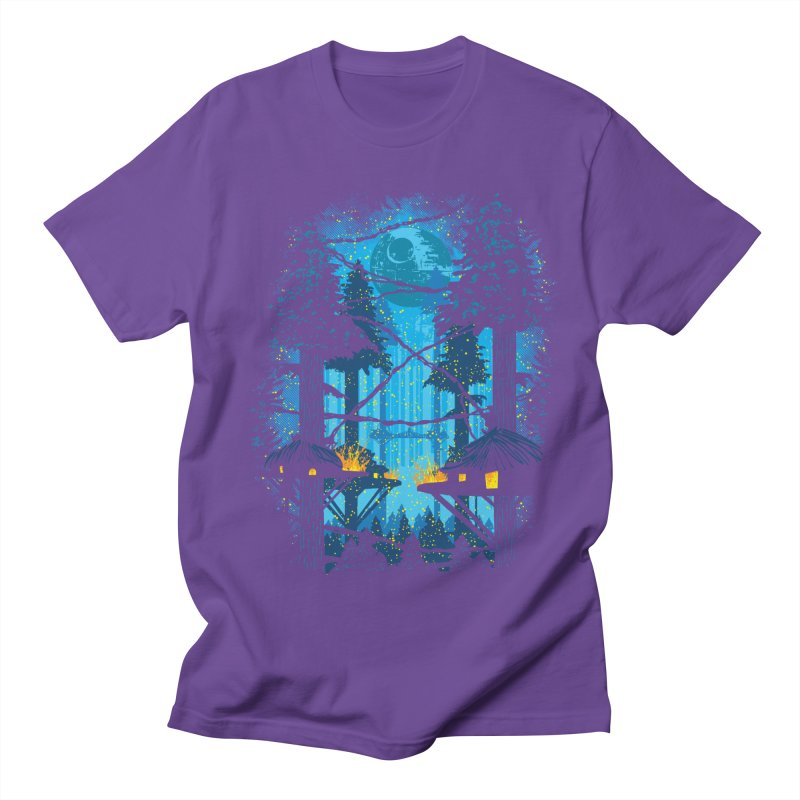 Ewok Village Men's Regular T-Shirt by Daletheskater