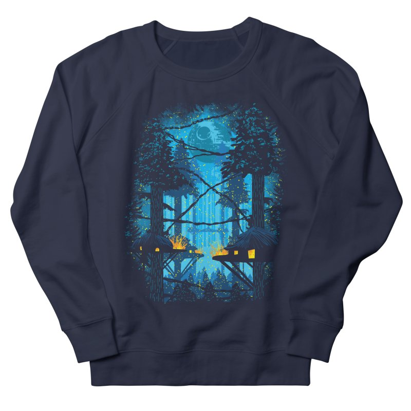 Ewok Village Women's French Terry Sweatshirt by Daletheskater
