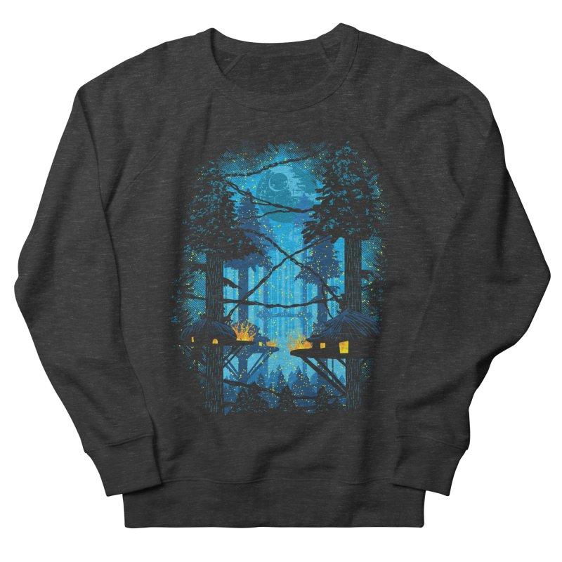 Ewok Village Men's French Terry Sweatshirt by Daletheskater