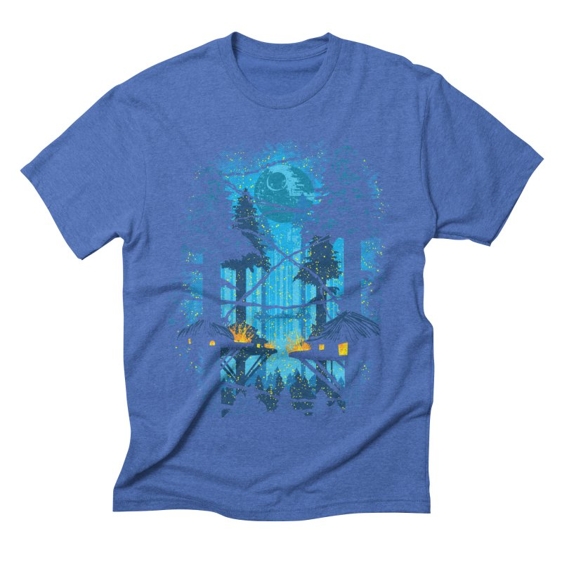 Ewok Village Men's Triblend T-Shirt by Daletheskater