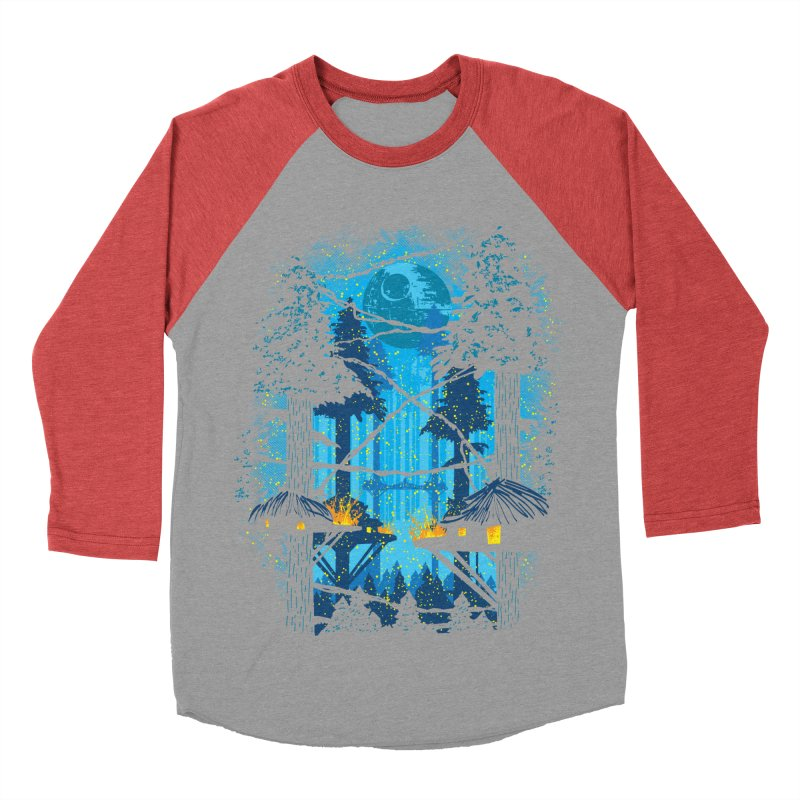Ewok Village Women's Baseball Triblend Longsleeve T-Shirt by Daletheskater