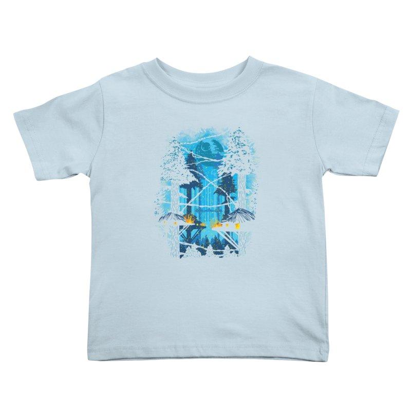 Ewok Village Kids Toddler T-Shirt by Daletheskater