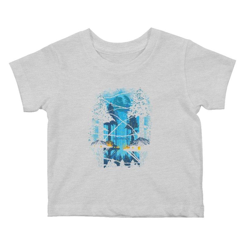 Ewok Village Kids Baby T-Shirt by Daletheskater