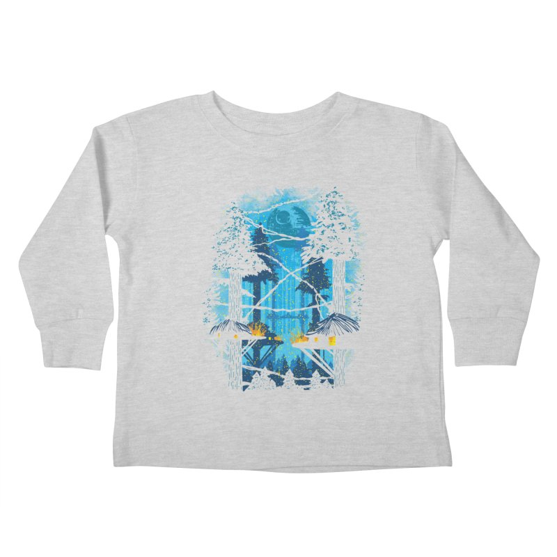 Ewok Village Kids Toddler Longsleeve T-Shirt by Daletheskater