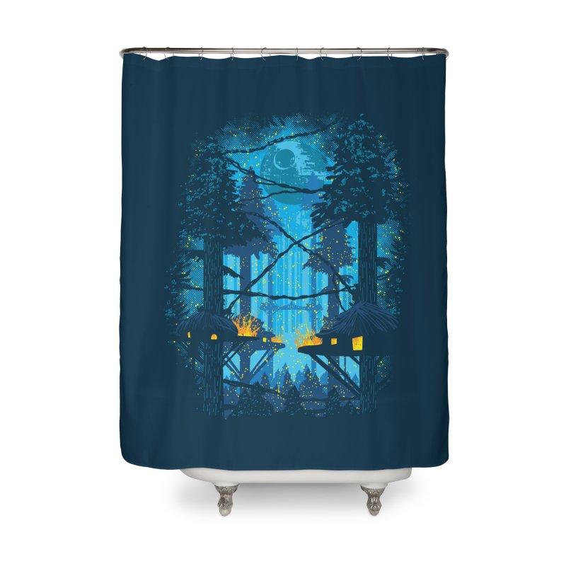 Ewok Village Home Shower Curtain by Daletheskater