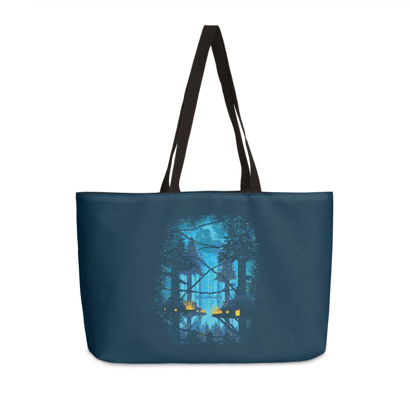 Ewok Village Accessories Weekender Bag Bag by Daletheskater