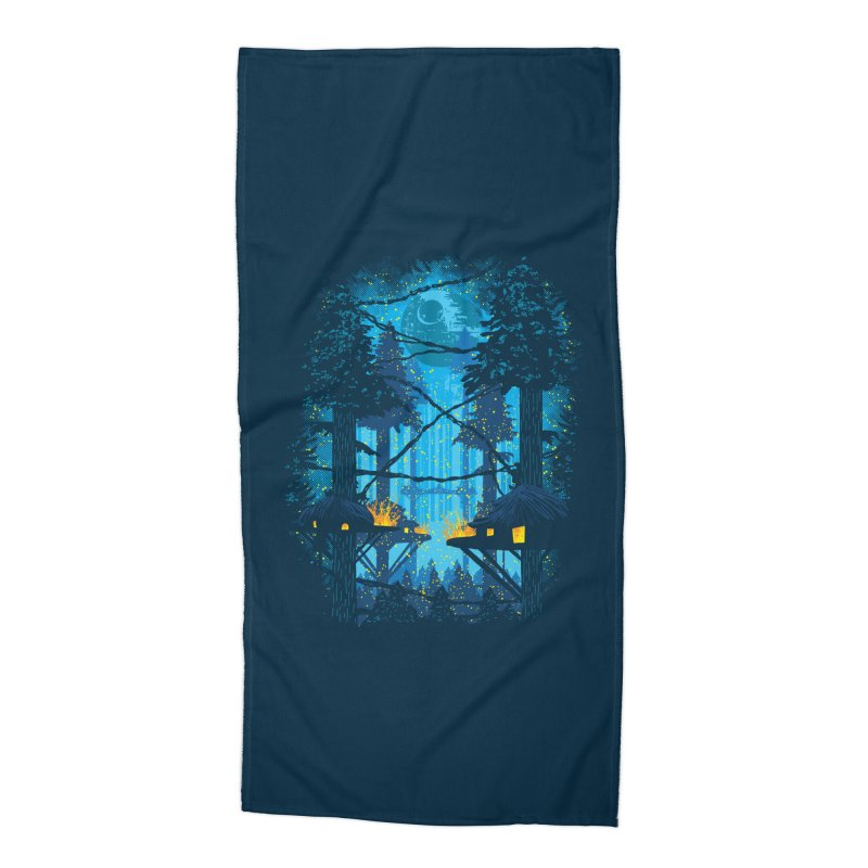 Ewok Village Accessories Beach Towel by Daletheskater