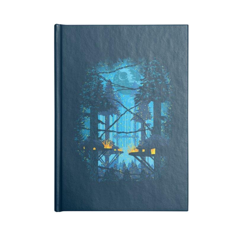 Ewok Village Accessories Lined Journal Notebook by Daletheskater