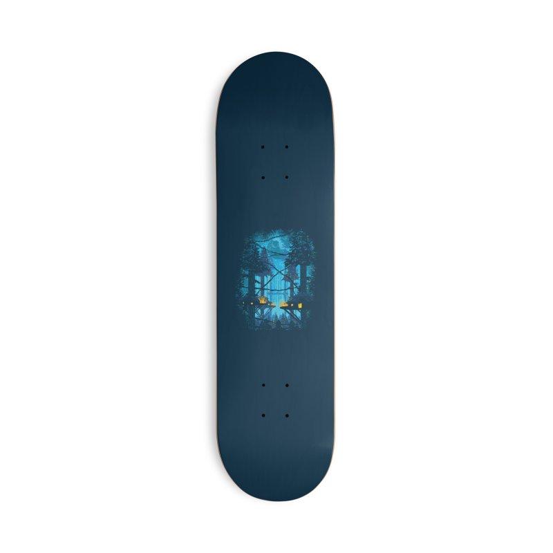 Ewok Village Accessories Deck Only Skateboard by Daletheskater