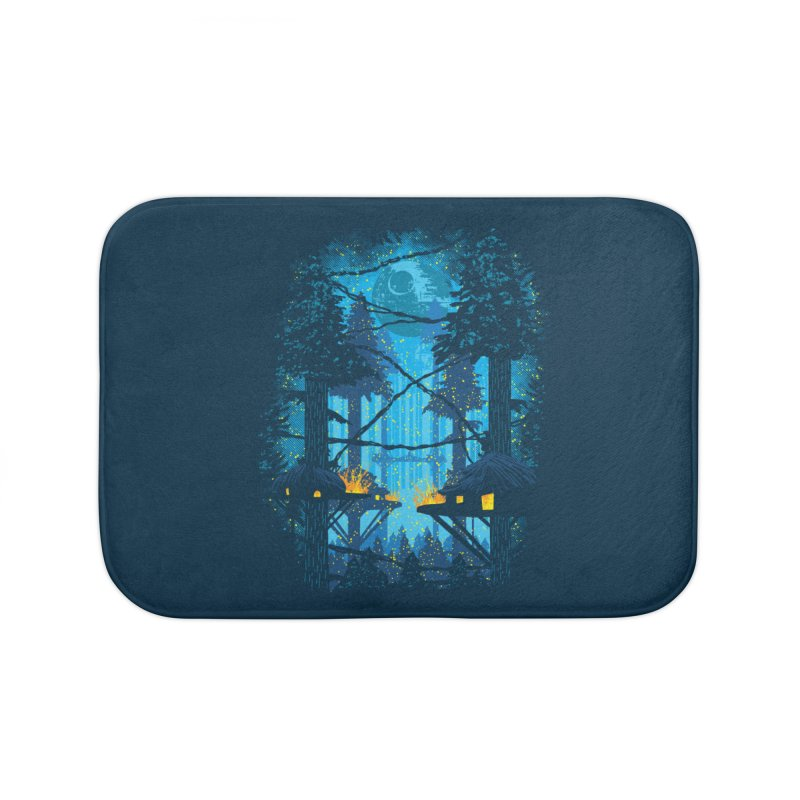 Ewok Village Home Bath Mat by Daletheskater