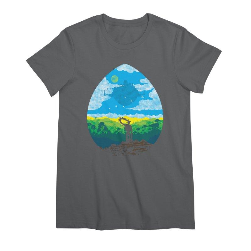 Mystical City Women's Premium T-Shirt by Daletheskater