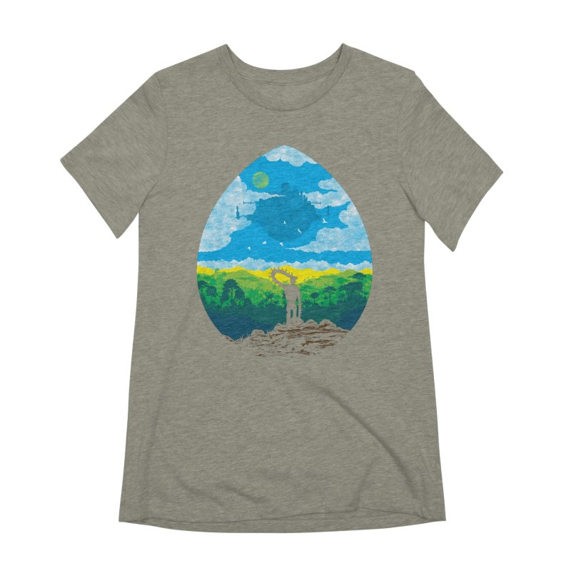 Mystical City Women's Extra Soft T-Shirt by Daletheskater