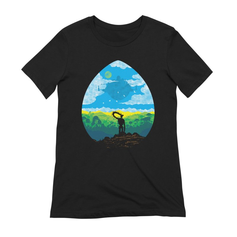 Mystical City Women's Extra Soft T-Shirt by Daletheskater