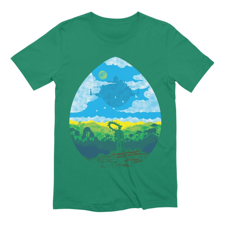 Mystical City Men's Extra Soft T-Shirt by Daletheskater