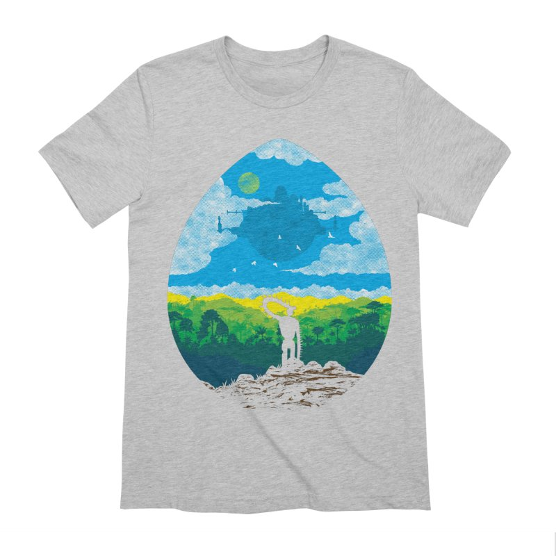 Mystical City Men's Extra Soft T-Shirt by Daletheskater
