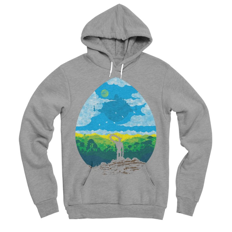 Mystical City Women's Sponge Fleece Pullover Hoody by Daletheskater