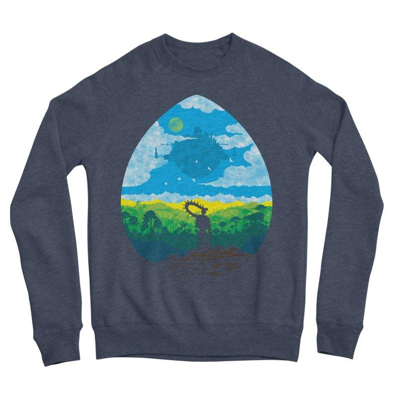Mystical City Men's Sponge Fleece Sweatshirt by Daletheskater