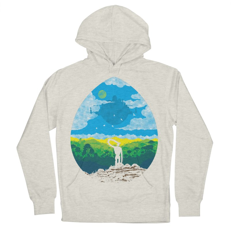 Mystical City Women's French Terry Pullover Hoody by Daletheskater