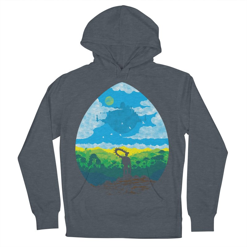 Mystical City Men's French Terry Pullover Hoody by Daletheskater