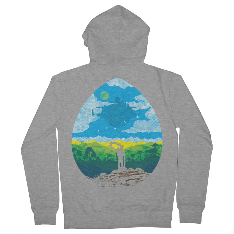 Mystical City Women's French Terry Zip-Up Hoody by Daletheskater