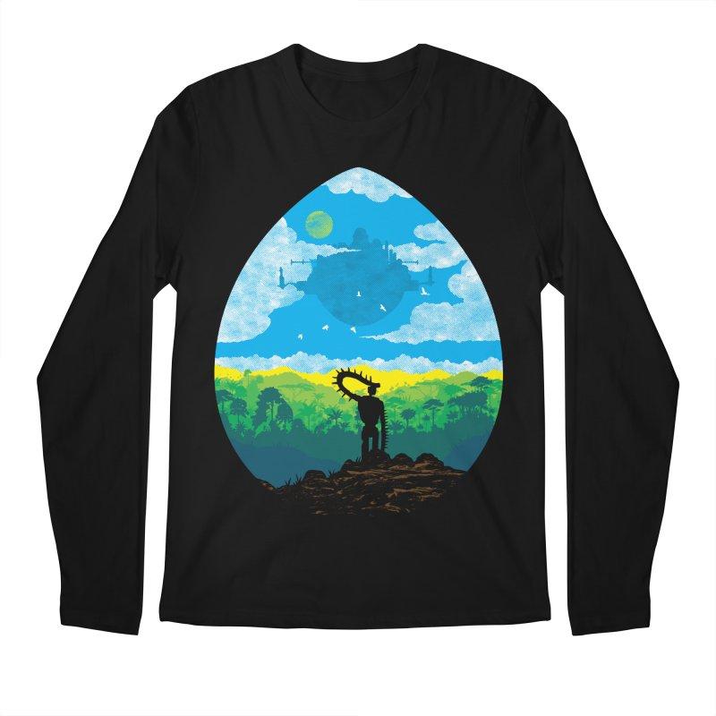 Mystical City Men's Regular Longsleeve T-Shirt by Daletheskater