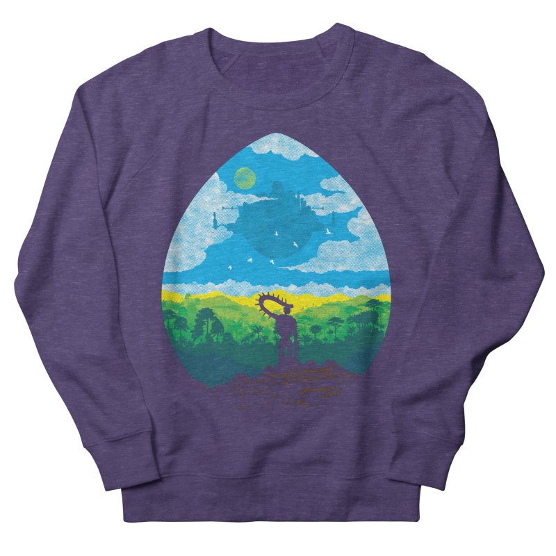 Mystical City Women's French Terry Sweatshirt by Daletheskater