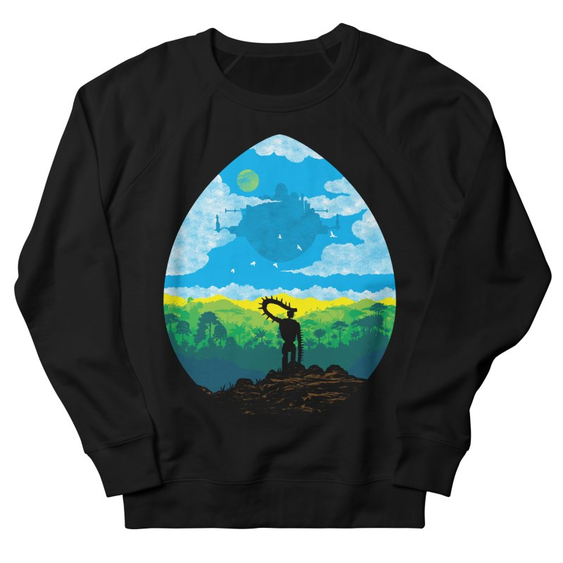 Mystical City Men's French Terry Sweatshirt by Daletheskater