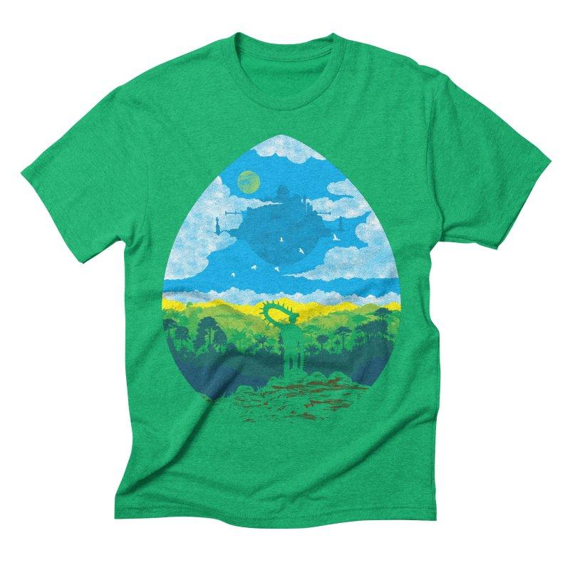 Mystical City Men's Triblend T-Shirt by Daletheskater