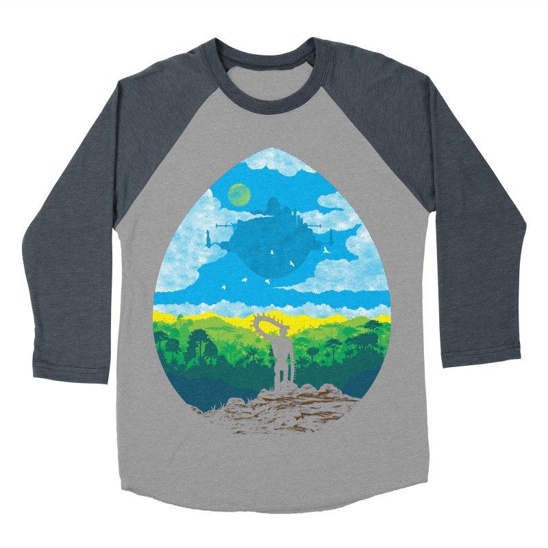 Mystical City Women's Baseball Triblend Longsleeve T-Shirt by Daletheskater