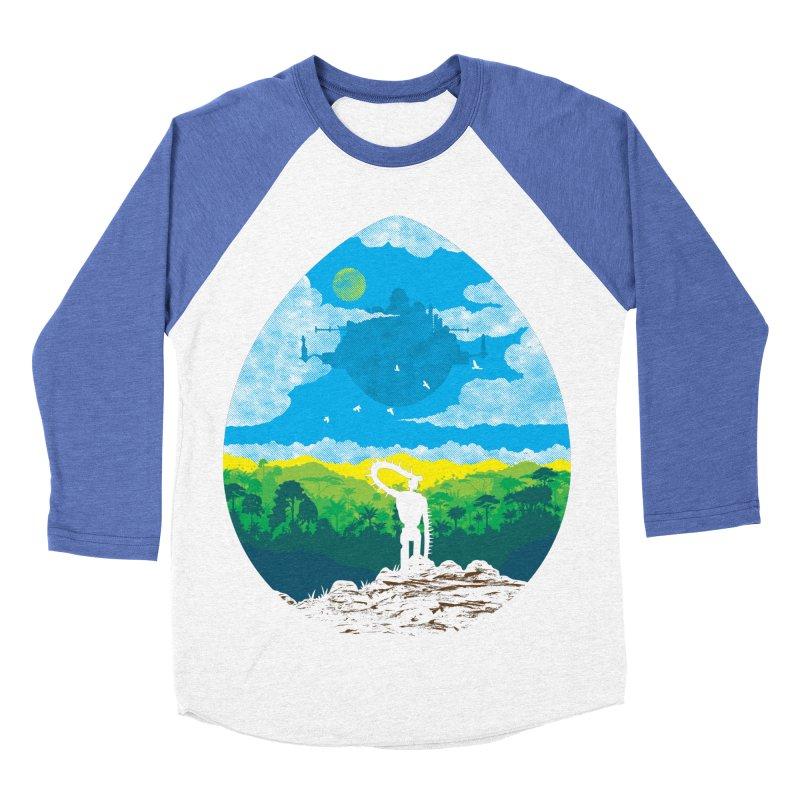 Mystical City Men's Baseball Triblend Longsleeve T-Shirt by Daletheskater