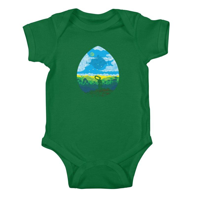 Mystical City Kids Baby Bodysuit by Daletheskater