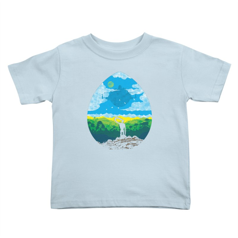 Mystical City Kids Toddler T-Shirt by Daletheskater