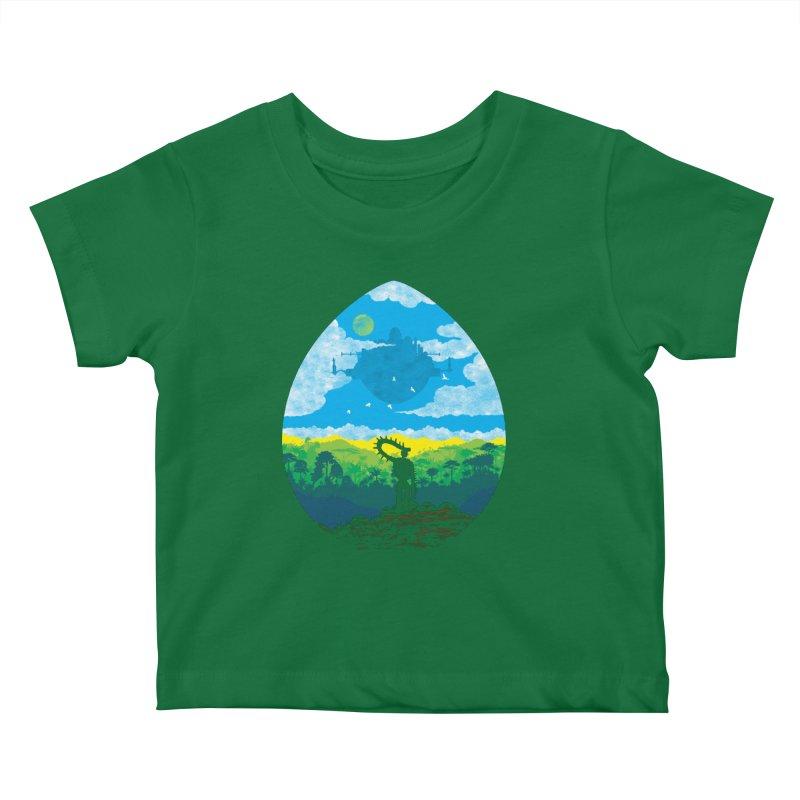 Mystical City Kids Baby T-Shirt by Daletheskater