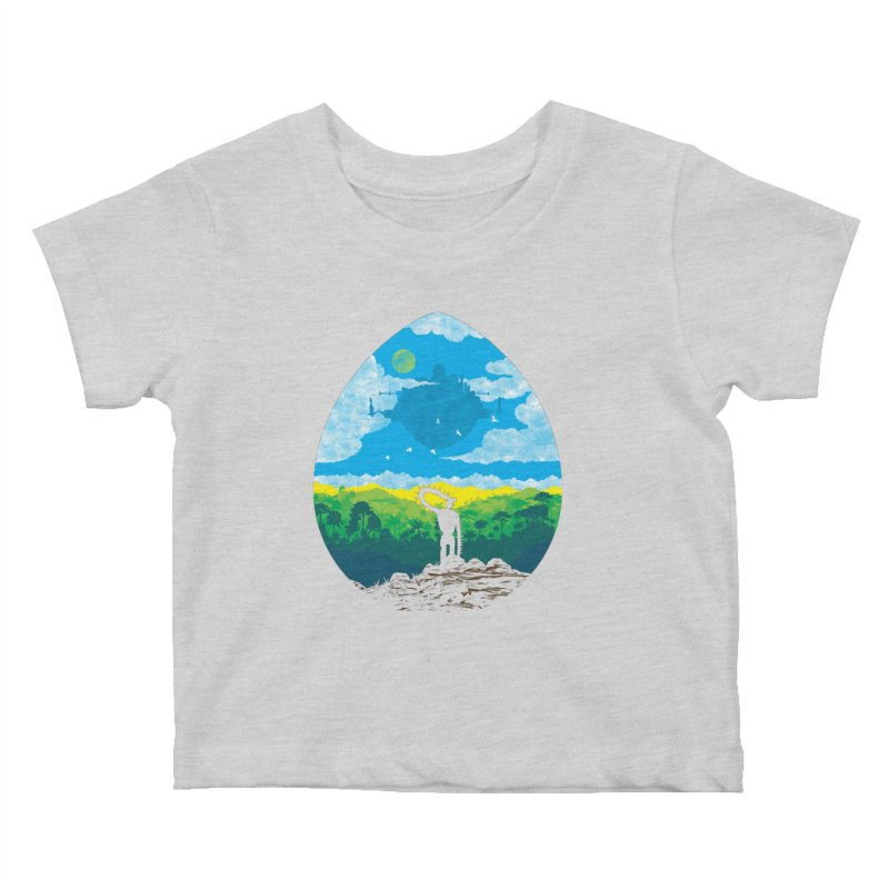 Mystical City Kids Baby T-Shirt by Daletheskater