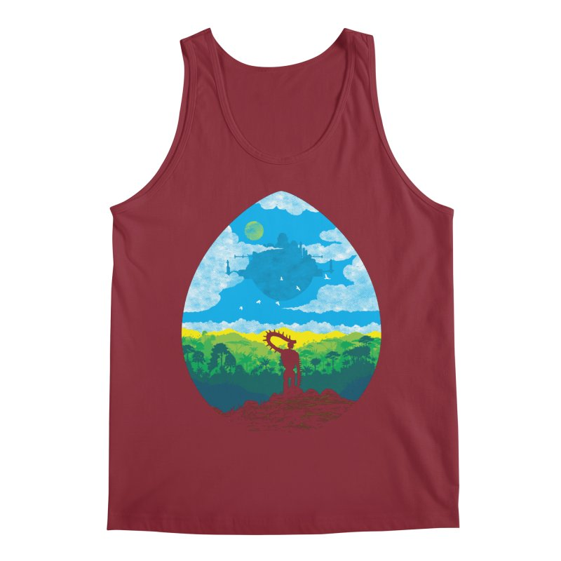 Mystical City Men's Tank by Daletheskater