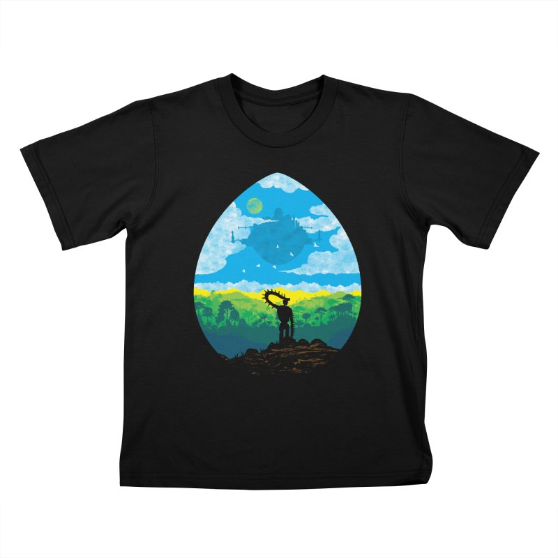 Mystical City Kids T-Shirt by Daletheskater