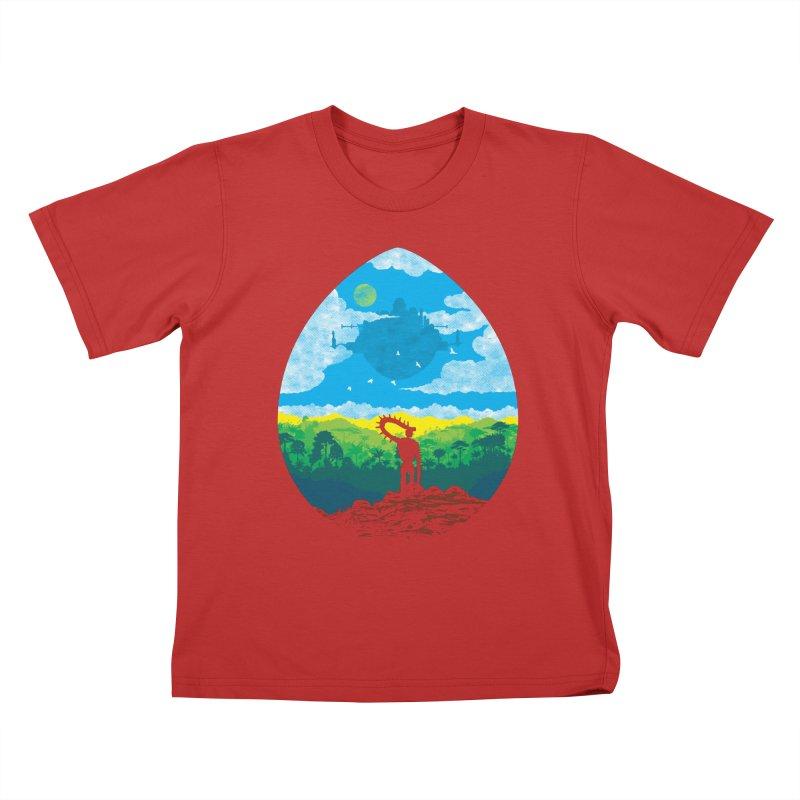 Mystical City Kids T-Shirt by Daletheskater