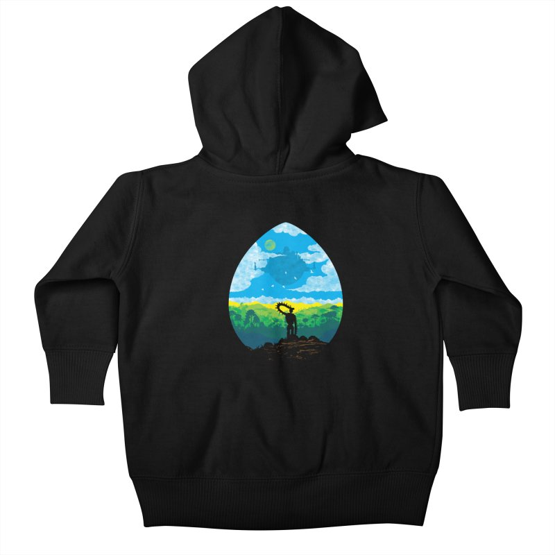 Mystical City Kids Baby Zip-Up Hoody by Daletheskater