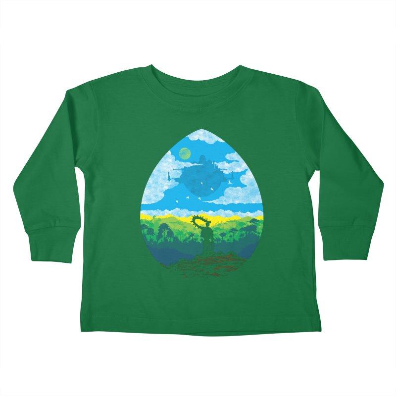 Mystical City Kids Toddler Longsleeve T-Shirt by Daletheskater