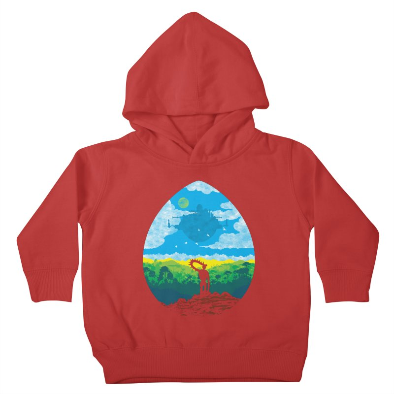 Mystical City Kids Toddler Pullover Hoody by Daletheskater