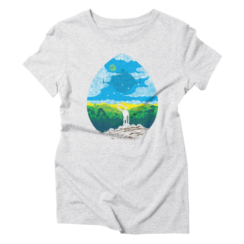 Mystical City Women's Triblend T-Shirt by Daletheskater