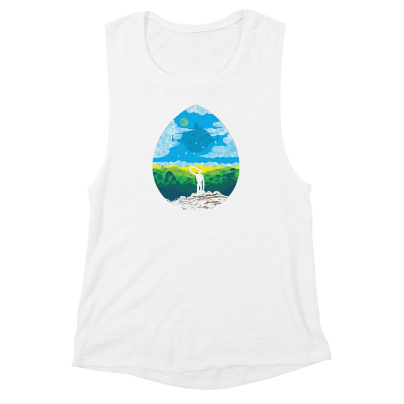 Mystical City Women's Muscle Tank by Daletheskater